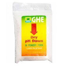 Reductor / Bajador de pH Down Seco GHE Hidroponia (25g)