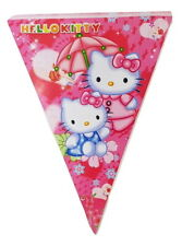 New 1pce 2m Hello Kitty Party Bunting Banner Flags