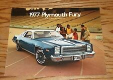 Original 1977 Plymouth Fury Sales Brochure 77 Sport Salon