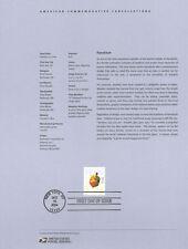 #0434 37c Hanukkah Driedel Stamp #3880 Souvenir Page