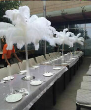 10-500pcs High Quality Natural OSTRICH FEATHERS 16-18inch/40-45cm free shipping
