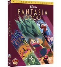 DISNEY DVD Fantasia 2000 con slipcover in rilievo