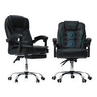 Office Gaming Chair Ergonomic  Massage Reclining Swivel Desk Computer