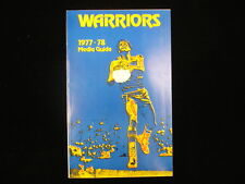 1977-78 Golden State Warriors Media Guide