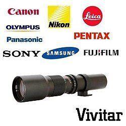Vivitar 500mm f/8.0 Telephoto Lens for T-mount New!!!