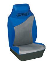 Universal Ford Galaxy Impermeable Hi-back frontal cubiertas de asiento de coche Azul/Gris