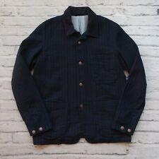 Sample Levi's Indigo Stripe Chore Jacket Size M Work Denim