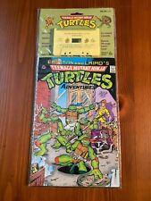 TMNT Teenage Mutant Ninja Turtles Adventures Comic #1 w/ Cassette 1988 Random Ho