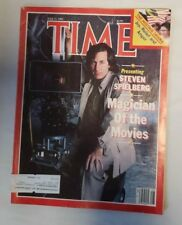 Time Magazine July 1985 Steven Spielberg Magician Of the Movies Hostage Drama