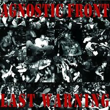 AGNOSTIC FRONT LAST WARNING STRENGHT RECORDS REISSUE LP VINYLE NEUF NEW VINYL