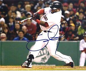 PABLO SANDOVAL BOSTON RED SOX AUTOGRAPHED SIGNED 8X10 PHOTO #2 W/COA
