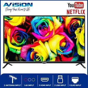 Avision 43 Inch Smart Digital LED TV 43FL802 with Wall Bracket