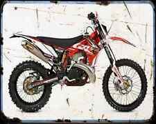 Gas Gas Ec 250 Cervante 11 A4 Metal Sign Motorbike Vintage Aged