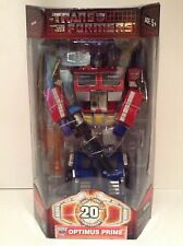 Transformers 20th Anniversary Optimus Prime Masterpiece
