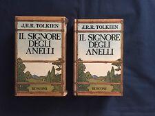 Tolkien Il Signore degli anelli Rusconi Copertina Rigida Cofanetto XXII ed 1990