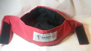 Portable Water Bowl For Dogs BANDANA BOWL Up To 25lbs Choice Of Green Blue Red