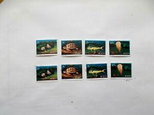 MALTA: 1979 Marine Life Two sets U/M & VFU 8 stamps Sg630/633