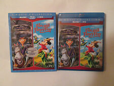 Adventures of Ichabod and Mr. Toad/Fun and Fancy Free (Blu-ray/DVD,2014, 3-Disc)