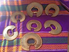 Lot Of 7 Authentic African Wrist Knifes Used By Turkana Tribe Of Kenya