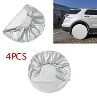 """4pcs Wheel Tire Cover Sun Protector 27""""-29"""" For RV Auto Car Truck Camper Trailer"""