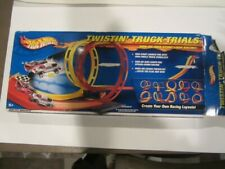 Hot Wheels Twistin Truck Trials Loop Racing Track Open New 55659 No Cars Sticker