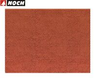 """NOCH H0 56690 3D-Kartonplatte / Mauerplatte """"Biberschwanz"""" (1m² - 57,28€) - NEU"""