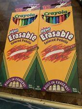 Crayola 10 Ct. Erasable Colored Pencils (Pack Of 2)