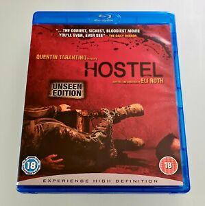 HOSTEL (2005) • UNSEEN EDITION • BLU-RAY (REGION B) • UK IMPORT • BRAND NEW