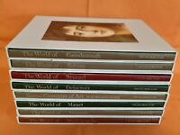 Lot of 8 Time-Life Library of Art: The World Of Michelangelo, Bruegel, Vermeer