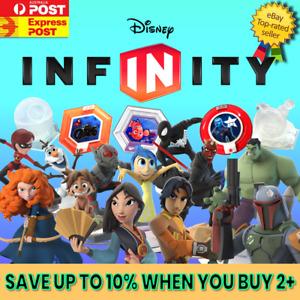 DISNEY INFINITY 1.0  2.0  3.0 Figures, Power Discs, Playsets, Marvel, Star Wars