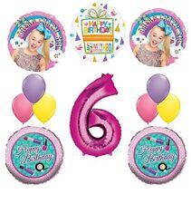JoJo Siwa Party Supplies Dream Crazy Big 6th Birthday Balloon Bouquet Decoration