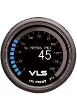 """TANABE REVEL VLS OIL PRESSURE GAUGE 0 PSI-150 PSI 52MM 2-1/16"""" OLED LED"""