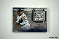 Mariano Rivera Topps 2021 70th Patch 70TH #'d to 70 36/70 NY Yankees RARE