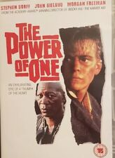 THE POWER OF ONE DVD (1992) Morgan Freeman ***RARE***