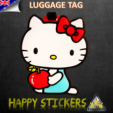 Hello Kitty Cat Travel Luggage ID Baggage School Tags Suitcase Bag Label Tag
