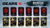 Gears 5 Rockstar Exclusive Complete Pack Skin Code Xbox One