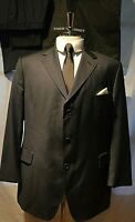 THOM SWEENEY ~LONDON CLASSIC BESPOKE TAILORED BLUE BUSINESS SUIT UK 42 EU 52