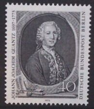 GERMANY BERLIN 1973 Johann Quantz Music. Set of 1. Mint Never Hinged. SGB441