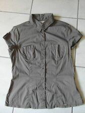 Damen Bluse, Street One, Gr. 36, Khaki, Neu