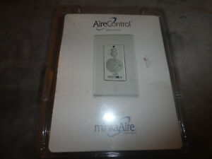 Minka Aire WCS212 3-Speed Reversing & Up & Down Light Dimming Wall Control - New
