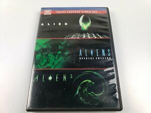 Alien - Aliens - Alien 3 Triple Feature 3-DVD Set