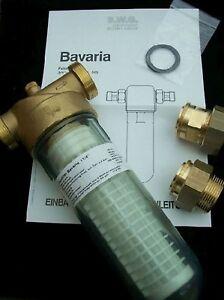 """BWG Feinfilter Wasserfilter Typ Bavaria 1 1/4"""" Für den Einsatz bei Trinkwasser"""