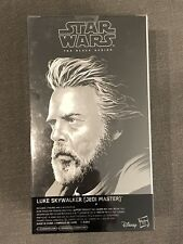 SDCC 2017 Black Series Star Wars Luke Skywalker Rey Last Jedi Set EXCLUSIVE