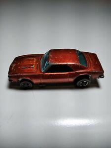 Vintage Hot Wheels Redline - Custom Camaro Copper All Original