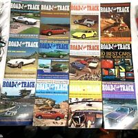 Road & Track Magazine 1971 The Complete Year - All 12 Issues #MG20