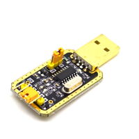 5PCS CH340G RS232 Upgrade to USB TTL Auto Converter Adapter STC Brush Module