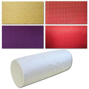 Bolster Cover*Chinese Rayon Brocade Neck Roll Long Tube Yoga Pillow Case*BL14