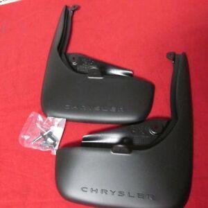Chrysler 200 REAR Molded Splash Guards NEW OEM MOPAR