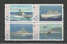 SOUTH AFRICA 1997 75TH ANNIV SOUTH AFRICAN NAVY SG,956-959 UN/MM NH LOT 6021A