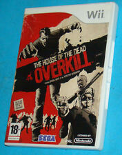 The House of the Dead Overkill - Nintendo WII - PAL